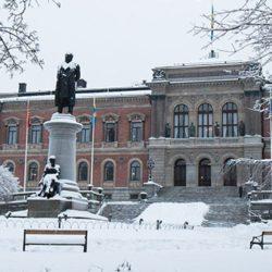 university-of-Uppsala-entrance